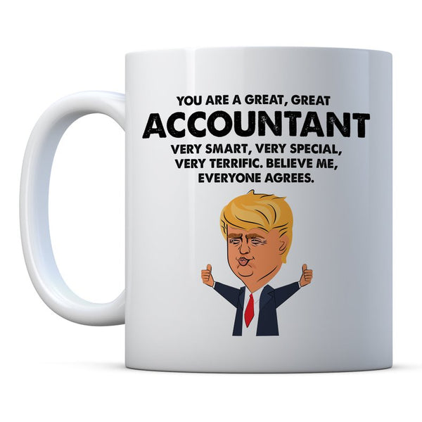 Accountant Trump Funny Gift