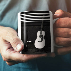 Acoustic Guitar NEW White Tea Coffee Mug