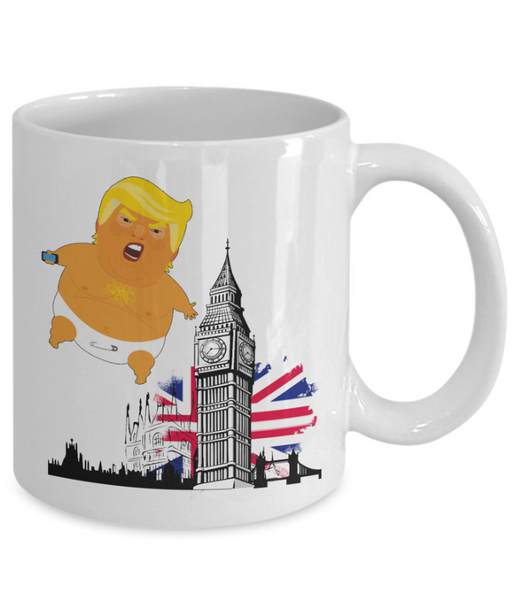 Angry Baby Trump Balloon London
