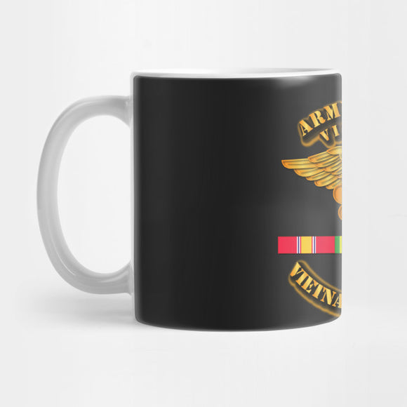 Army Nurse w Vietnam SVC Ribbons Mug - Best Gift for Boyfriends - Eureka Mugs