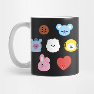 BTS BT21 Mug - Best Gift for Girlfriends - 11oz Coffee Mugs - Eureka Mugs