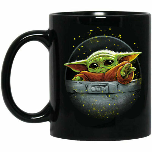 Baby Yoda, I love you, Birthday Coffee Mug Travel Mug