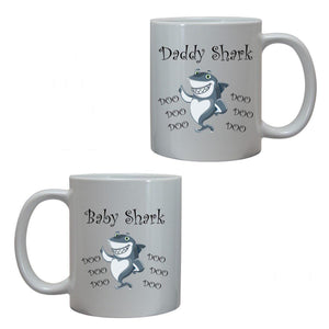 Baby Shark Doo Doo song Daddy Mug