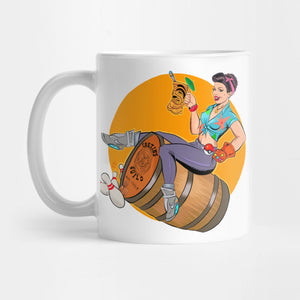 Barrel Girl Mug - Best Gift for Girlfriends - 11oz Coffee Mugs - Eureka Mugs