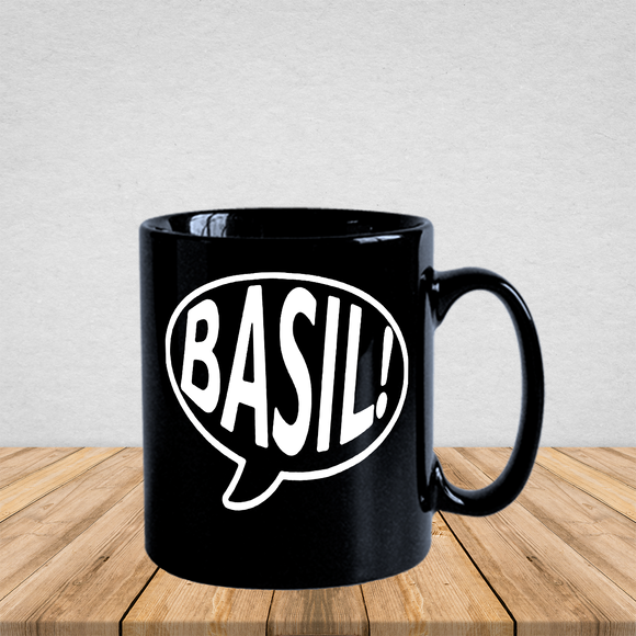 Basil Fawlty Towers Speech Bubble Mug