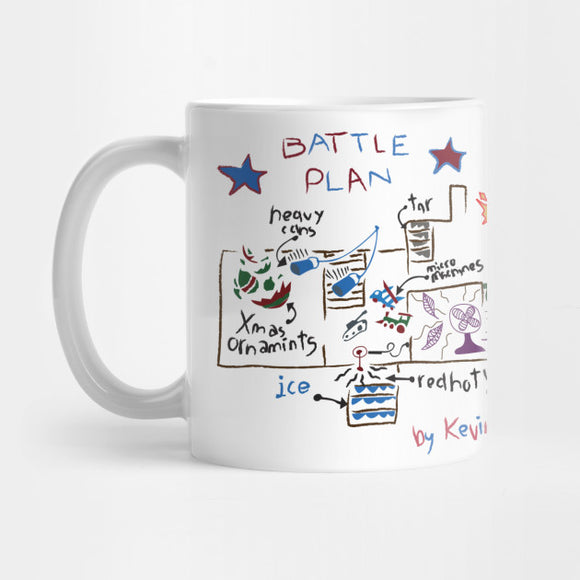 Battle Plan, Home Alone Mug - Best Gift for Boyfriends - Eureka Mugs