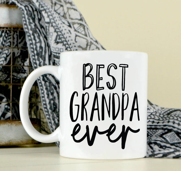 Best Grandpa Ever Coffee Mug - Dad - Grandpa Gift - Father's Day Mug - Grandpa Gift