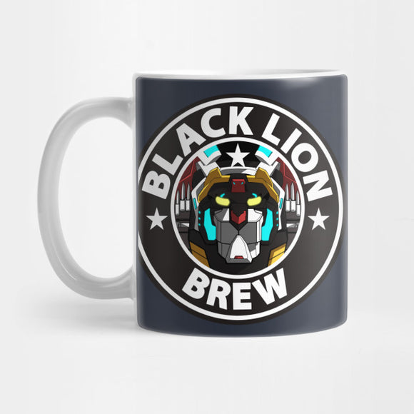 Black Lion Brew Mug - Best Gift for Boyfriends - Eureka Mugs