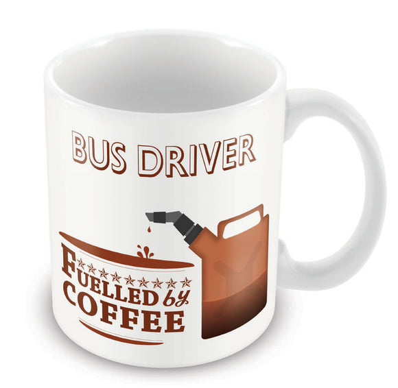 Bus Driver FUELLED BY Mug
