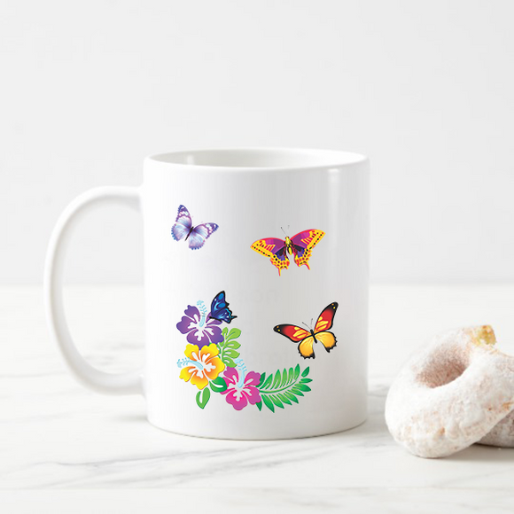 Butterfly Travel Coffee Mug
