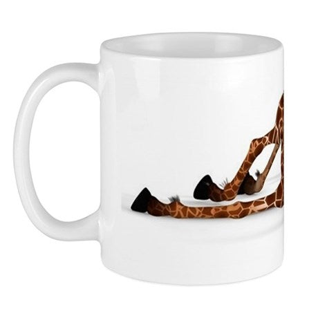 CUTE GIRAFFE WITH A FUNNY FACE - LOVELY MUG