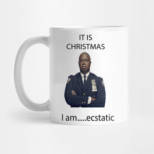 Captain Holt Christmas Mug - Best Gift for Dad