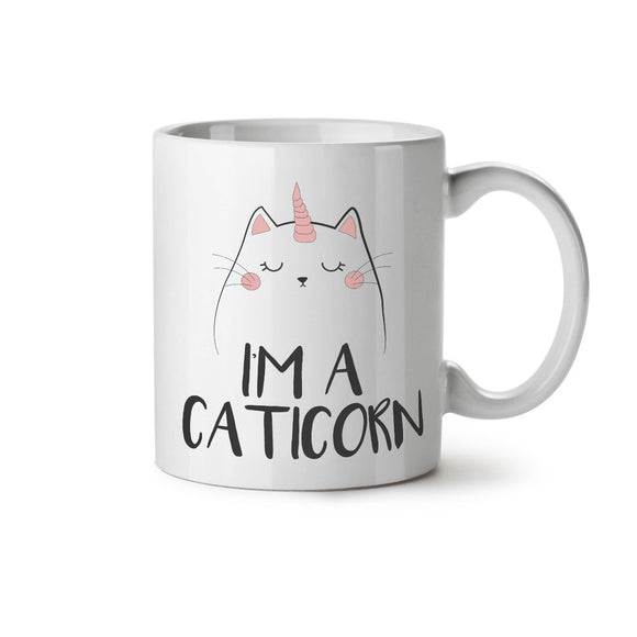 Cat Unicorn NEW White Tea Coffee Mug