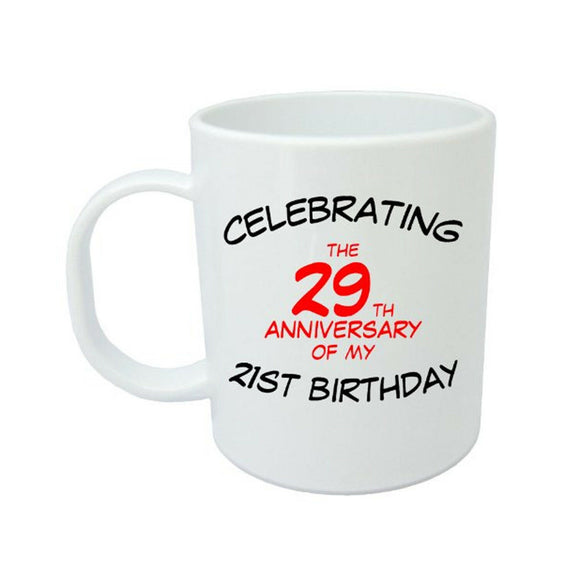 Celebrating My 50th Birthday Mug