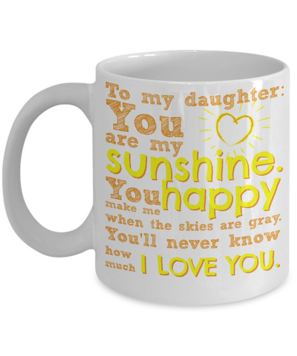 Coffee Mugs - I Love My Daughter