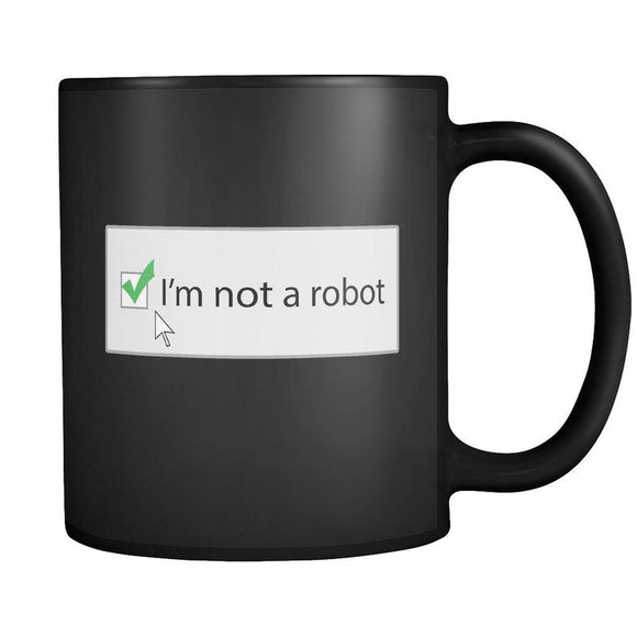 Coffee, Tea, Mug, Funny, IT, Tech, Computer, Internet, Coder, Internet Security, Code, Programmer, Robot, Coding, Web, On-line, Technology