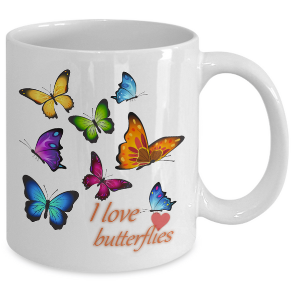 Ceramic Mug,Large,Love Grandma,Love Mom,You are Special,new butterflies,stars