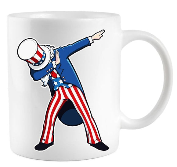 Uncle Sam Coffee Mugs