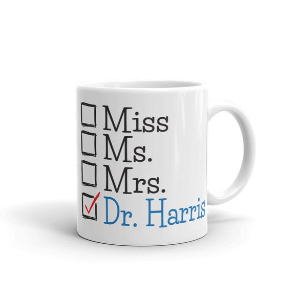 Doctor PhD Doctorate Personalized