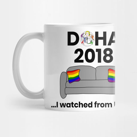 Doha...I Watched From Home Mug