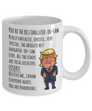 Donald Trump Daughter in Law Mug Funny Gifts for Daughter