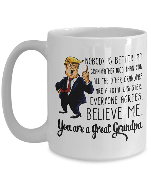 Funny Mugs Cup You Are A Great Grandpa