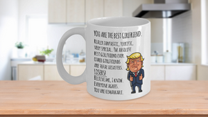 Funny Gifts for Girlfriends POTUS Mug