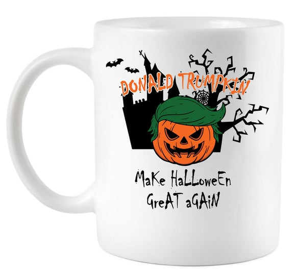 Donald Trump Make Halloween Great Again Coffee Mug