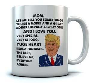 Mom, You're A Great Mother Coffee Mug