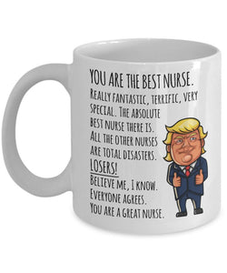 Donald Trump Nurse Mug