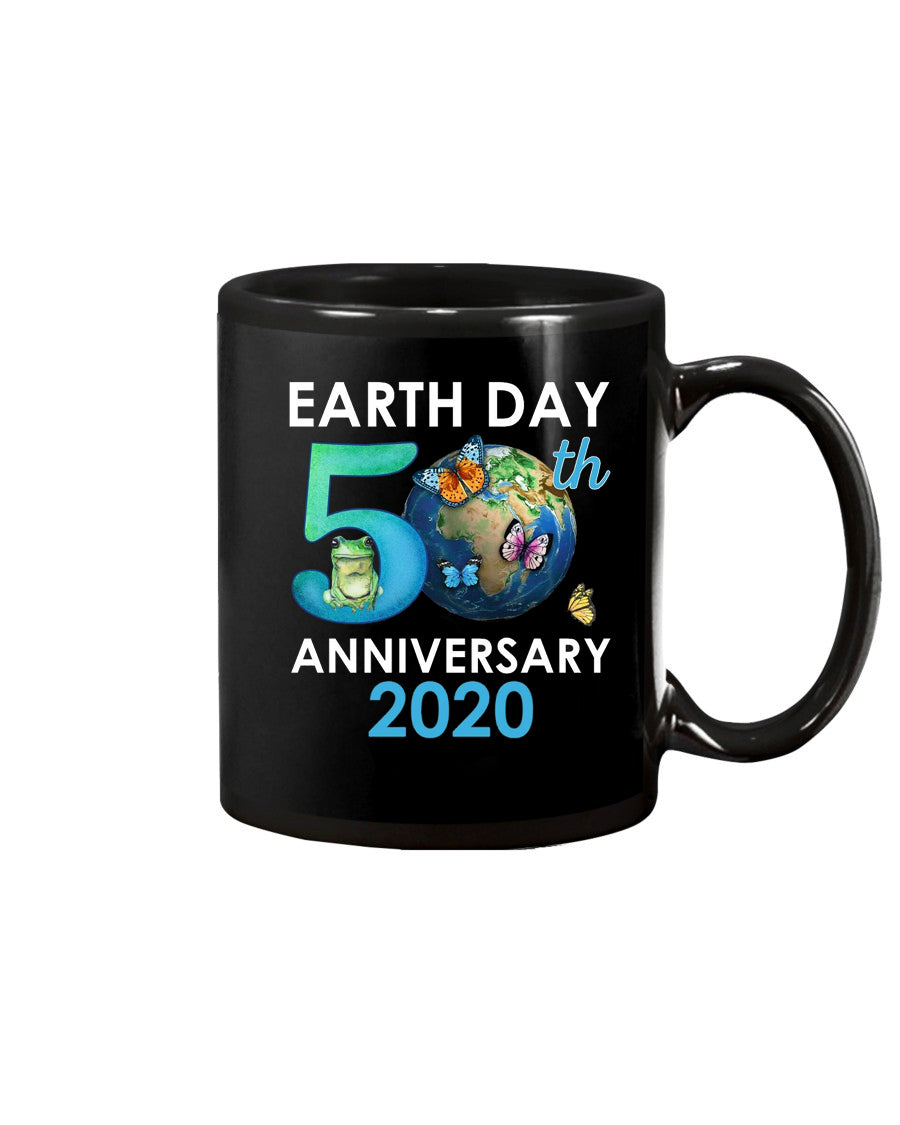 Earth Day 50th Anniversary 2020 Protect Environment  Coffee Mug