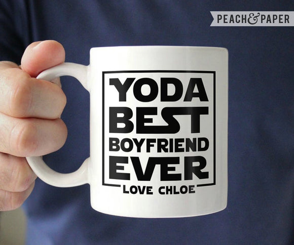 Funny Boyfriend Gift from Girlfriend Gift Star Wars Boyfriend Coffee Mug