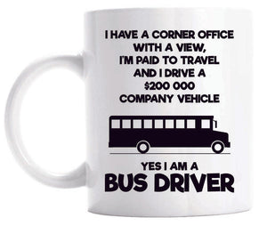 MugGift School Driver Bus For Coffee Funny 0OmyNwv8n