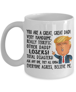 Gift For Dad Cup Fathers Day