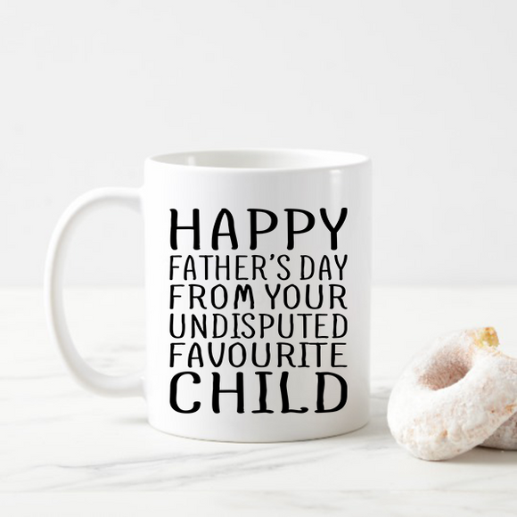 Father's Day Flowchart Mug