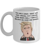 Funny Father's Day Coffee Mug - Eureka Mugs