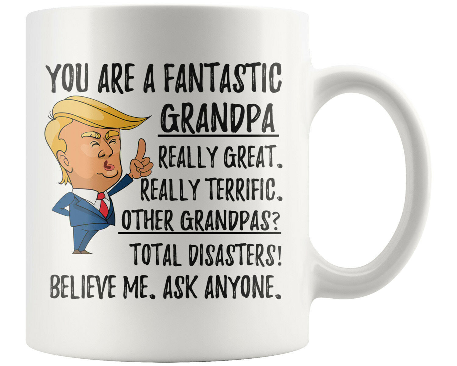 You Are A Fantastic, Funny Grandpa Coffee Mug