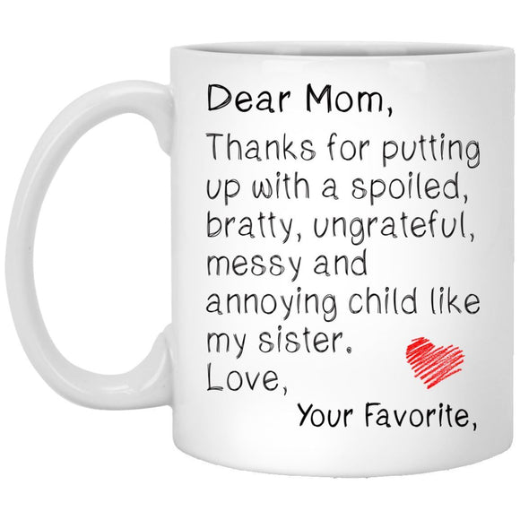 Funny Personalized Mug For Mom