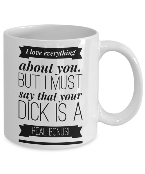 Gifts for Him Husband Boyfriend Anniversary Mug Adult Humor