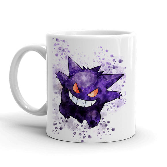 Gengar Pokemon Mug 11oz. Ceramic Tea Cup Color Changing Anime Coffee Mug Q94 - Eureka Mugs