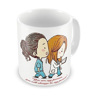 Grey's Anatomy You are my Person mug