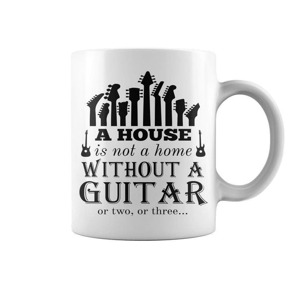 Guitar Mug Coffee Tea Mug