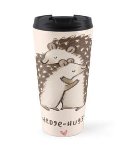 Hedge hugs Travel Mugs - Eureka Mugs
