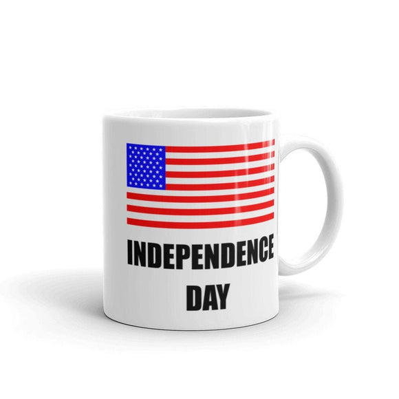 Independence Day mug, American Flag mug