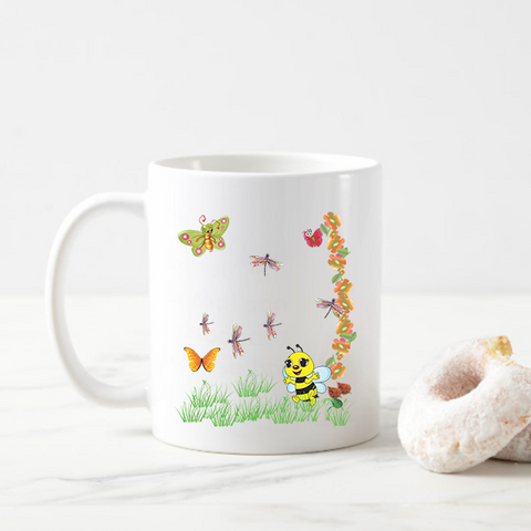 Insect Coffee Mug Gift for Kids
