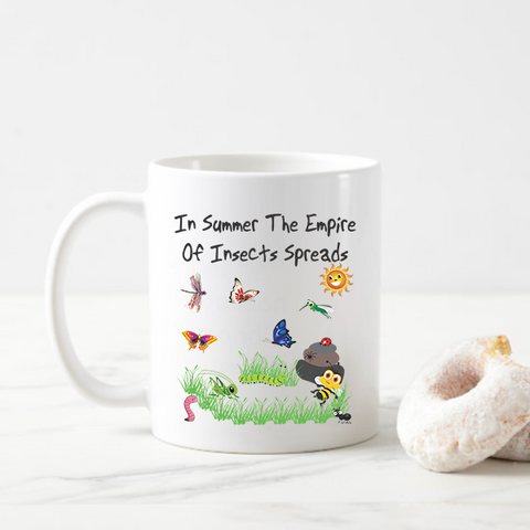 Insect Summer Coffee Mug