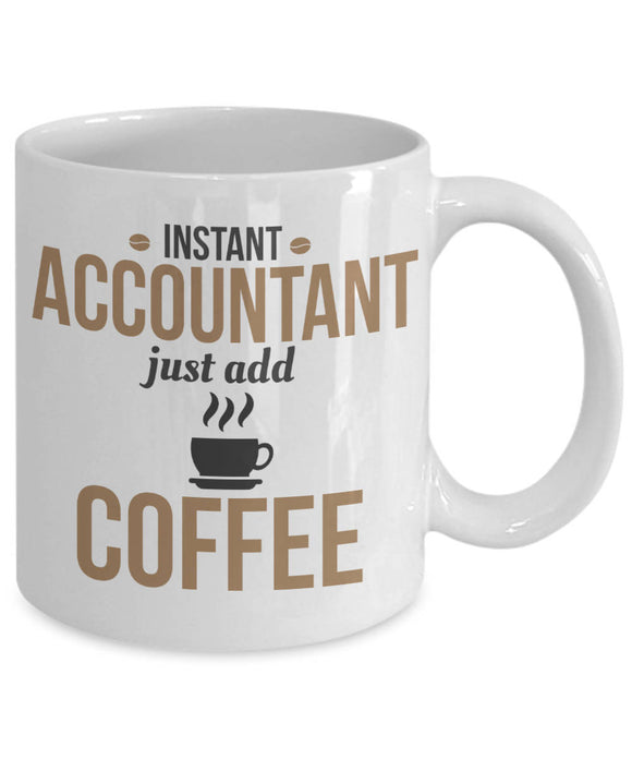 Instant Accountant, Just Add Coffee