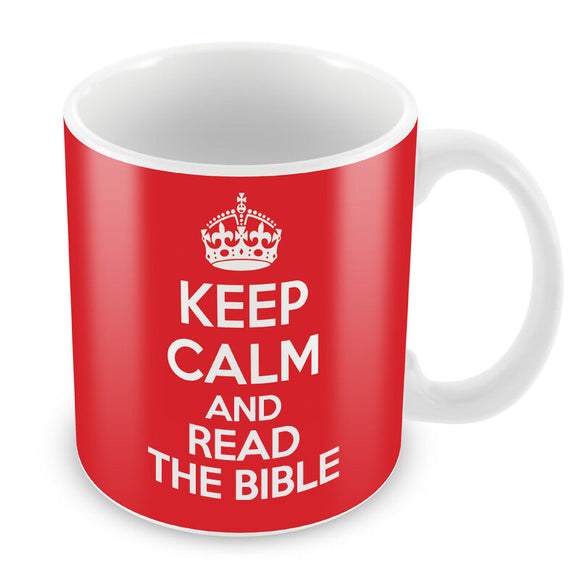 Keep Calm and Read the Bible Coffee Mugs