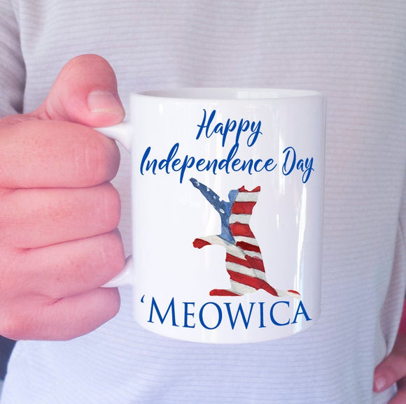 INDEPENDENCE DAY MUG- 4TH OF JULY MUG