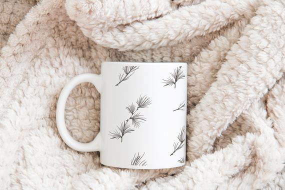 Leaves Mug Coffee Mug